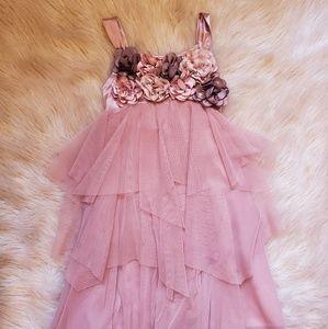 Gold Rose Dress